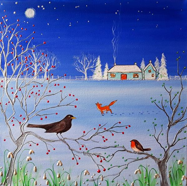First hint of Spring by Angie Livingstone