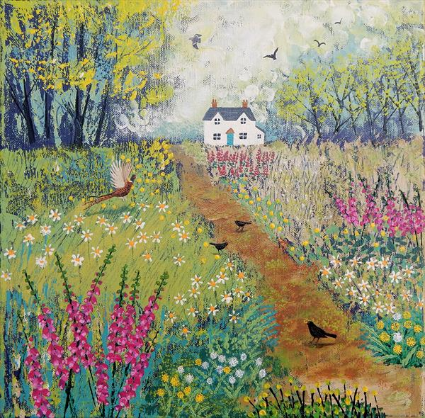 The Path to Foxglove Cottage by Josephine Grundy