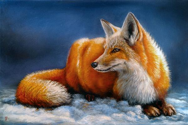 Red Fox by Dmitry Guskov