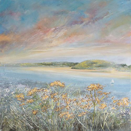 Daymer Bay Camel Estuary by Diane Griffiths