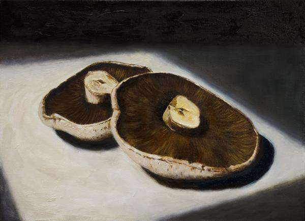 Field Mushrooms by Andrew Mcneile Jones
