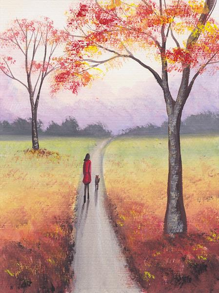 Autumn Walk by Sarah Featherstone