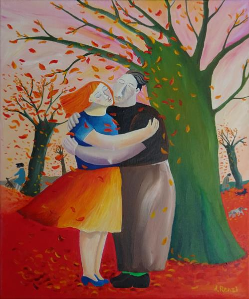 A kiss in the Park