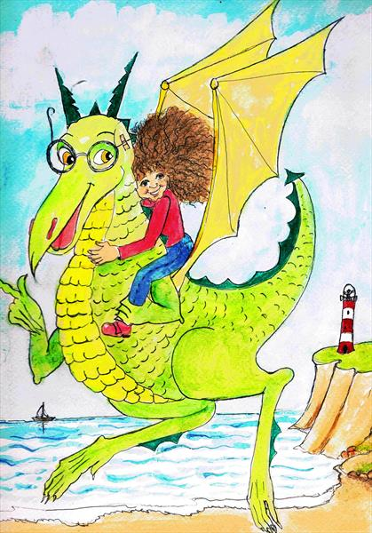 Molly and her  dragon by Maureen Lacey