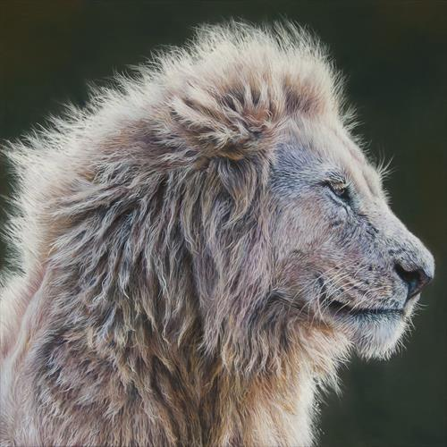 White Lion by Paul Hinks