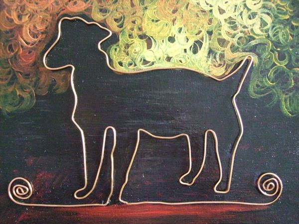 Copper Doggy 2 by Mary Ballentine