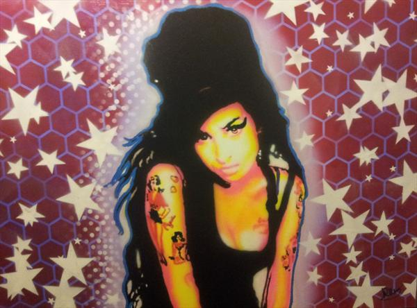 Amy Winehouse by Richard Heaney