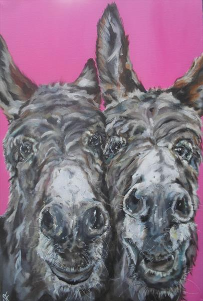 A Right Old Pair of Donkeys  by Sam Fenner