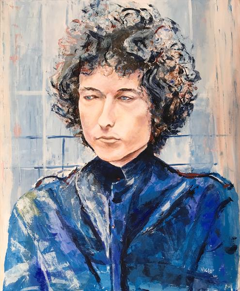 Bob Dylan. Forever young. by Victor White