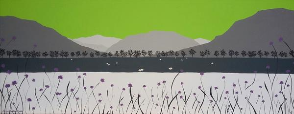 Across Brothers Water, The Lake District by Sam Martin