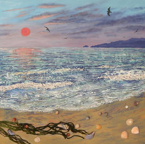 Evening Shore by Josephine Grundy
