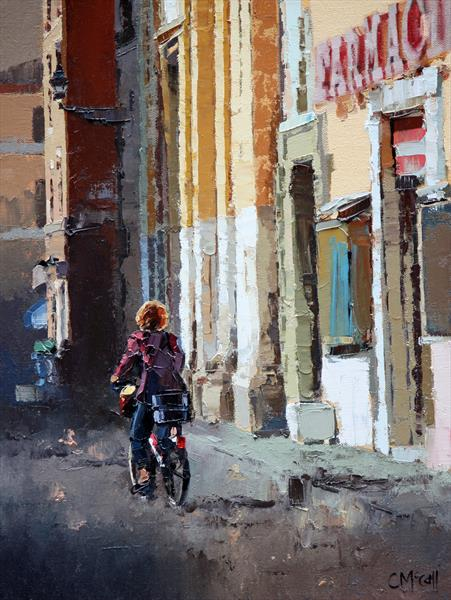 Streets Of Rome - Limited Edition Giclee Art Print by Claire McCall