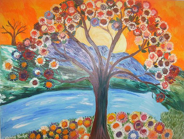 The Colourful Tree