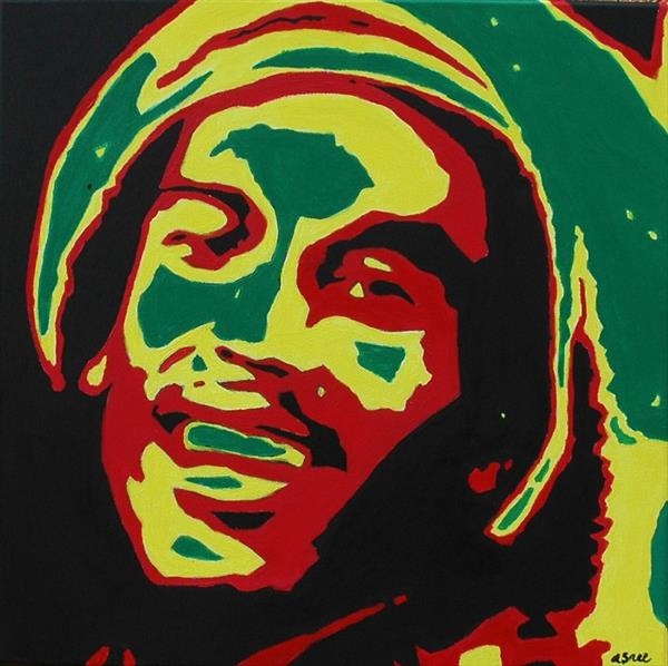 Bob Marley by Andrew Snee