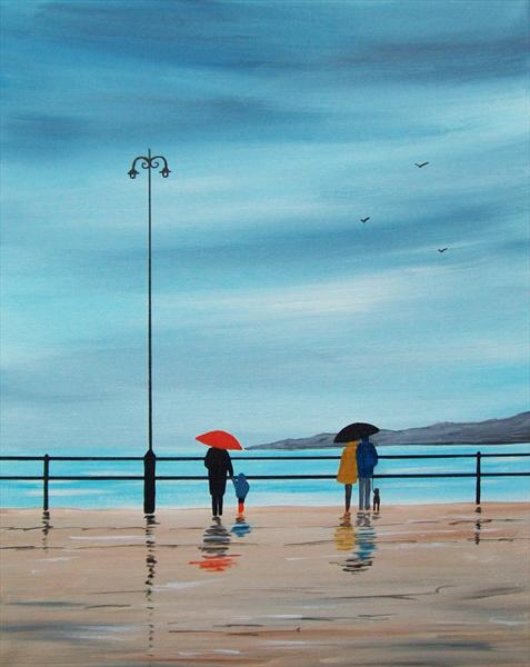 Rainy Day On the Seafront