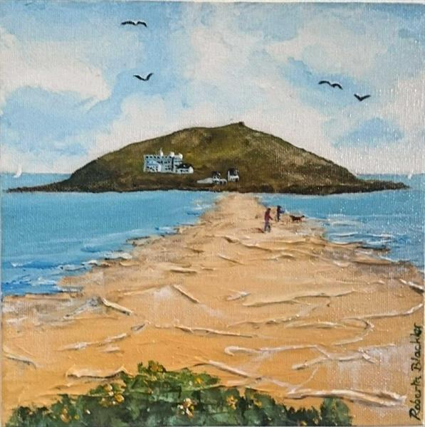 Burgh Island by Roberta Blackler