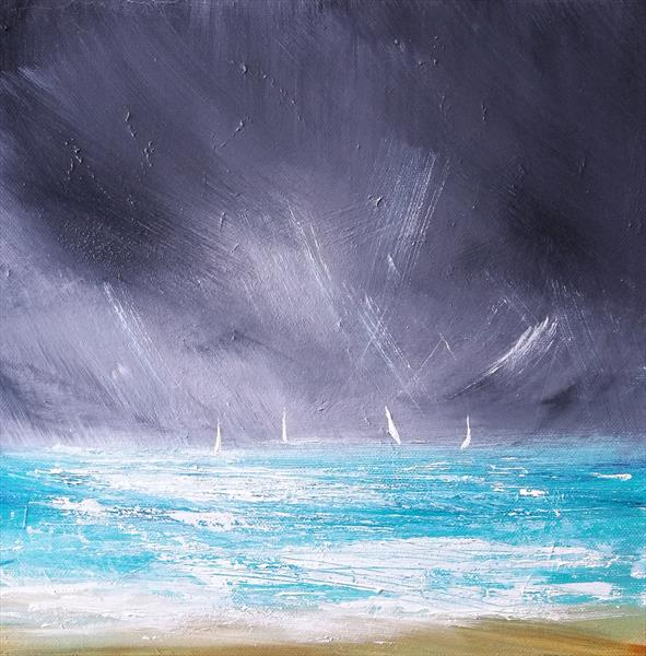 Sailing in the Surf by Melanie Graham