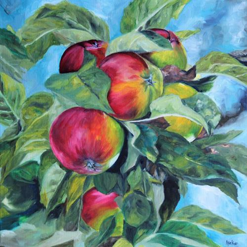 My sister's apple orchard #2 by Afekwo