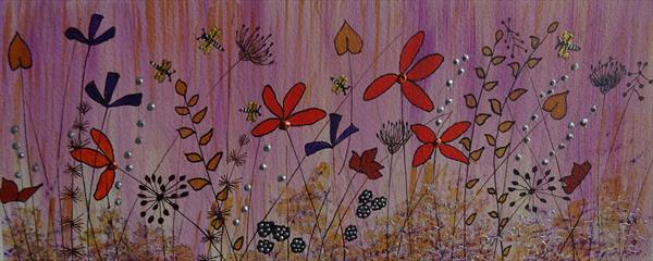 Autumn Hedgerow by Sue Walters