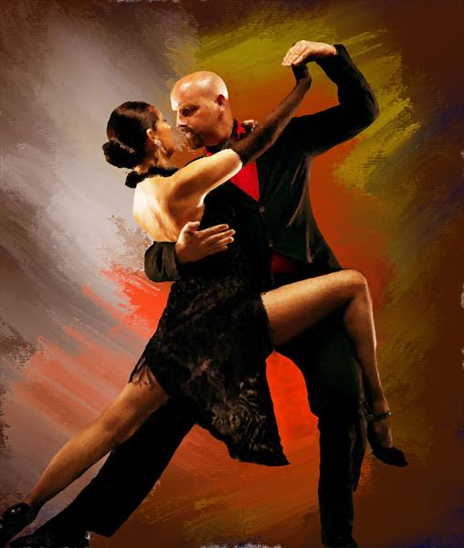 Tango Dance work 4 by Brian Tones