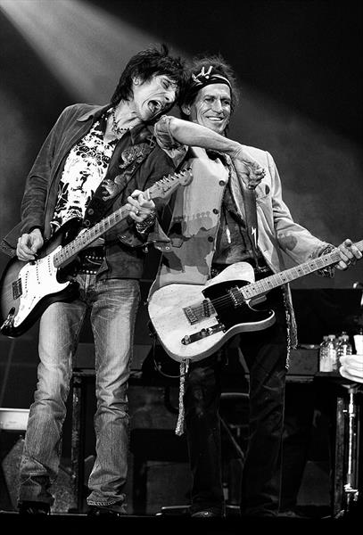 Ronnie & Keith by Peter Aitchison