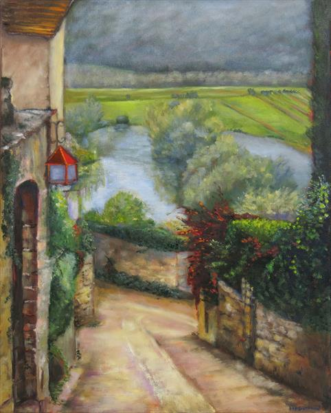 Beynac, The Dordogne, France by Maureen Greenwood