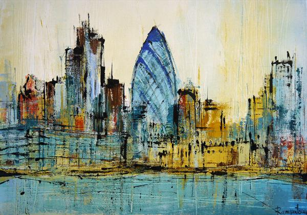 London Gerkin Cityscape
