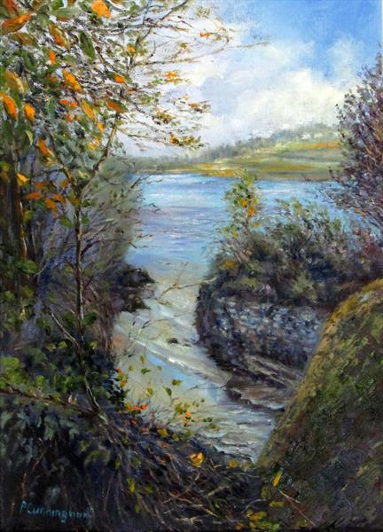 Cove on the Helford River by Patricia Cunningham