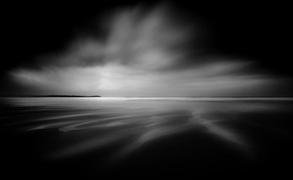 Horizon Abstract, Watergate Bay by Mick Blakey