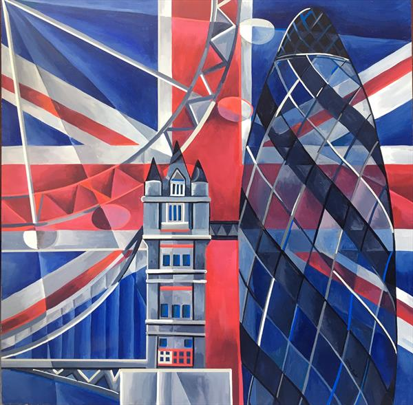 London Abstracted 1 by Tiffany Budd