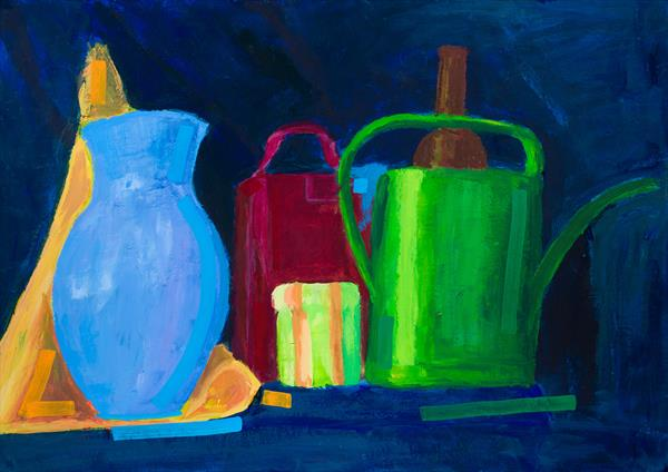 Still Life with Candle : 20
