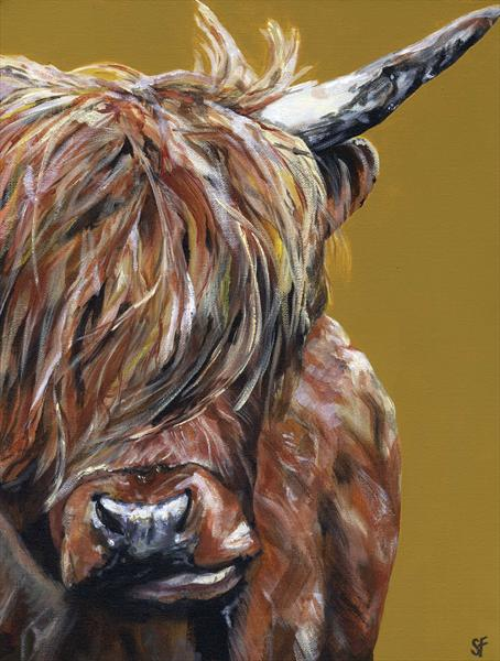 Mccow Limited Edition Print of 150 by Sam Fenner