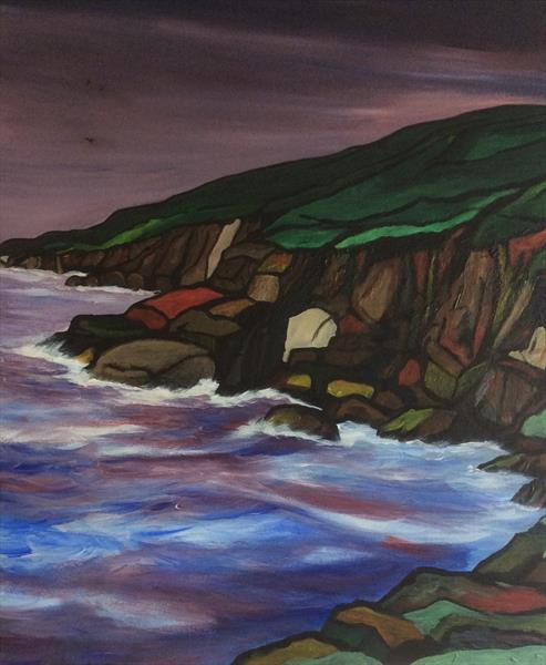 Colourful Coast by Robert Cadman