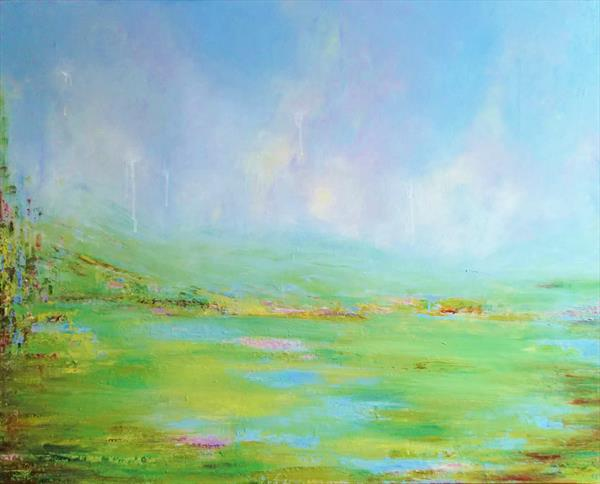 MISTY GREEN by Therese O'Keeffe