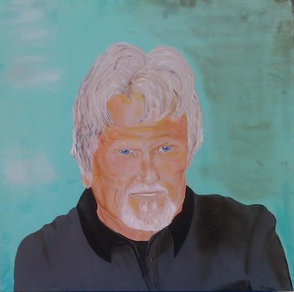 Kris Kristofferson - Is the face you see in the mirror the same one you show to the world? by Frank Adams
