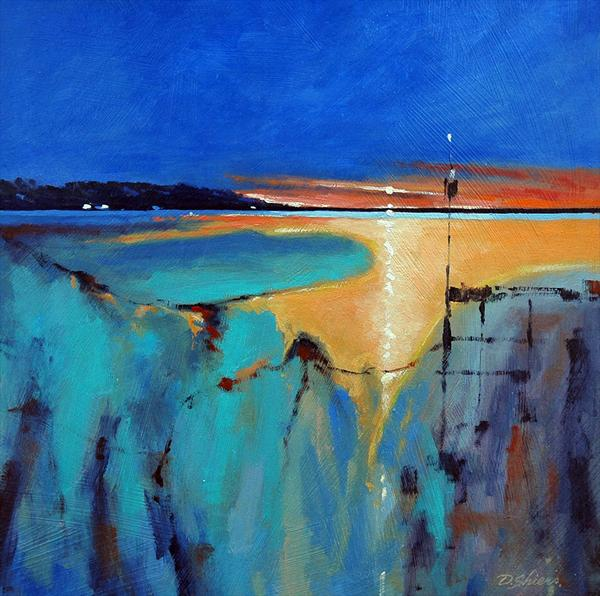 Setting Sun.(Small Version) (On Display at The Art Gallery, Tetbury)
