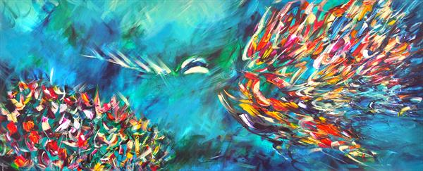 The Humming Birds Fly Twice by Victoria Horkan