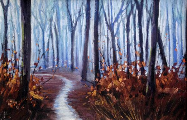 Snowy Path by Tracy Butler