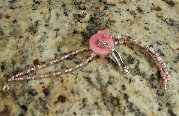 Bracelet with Shoe charm pendant by Mary Ballentine