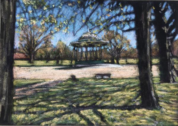 Spring on Clapham Common by Louise Gillard