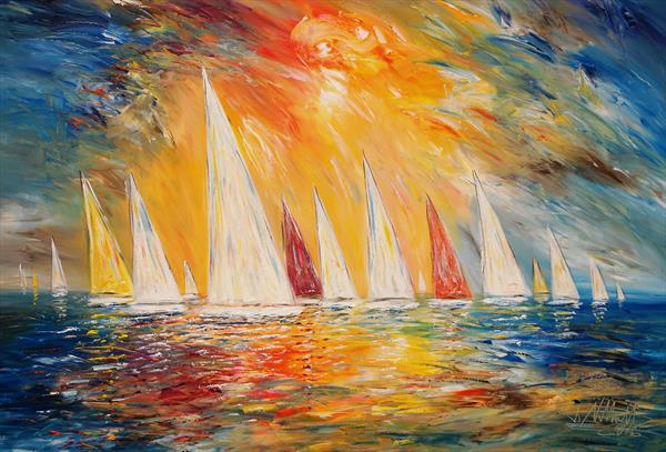 Sailing M 2 by Peter Nottrott