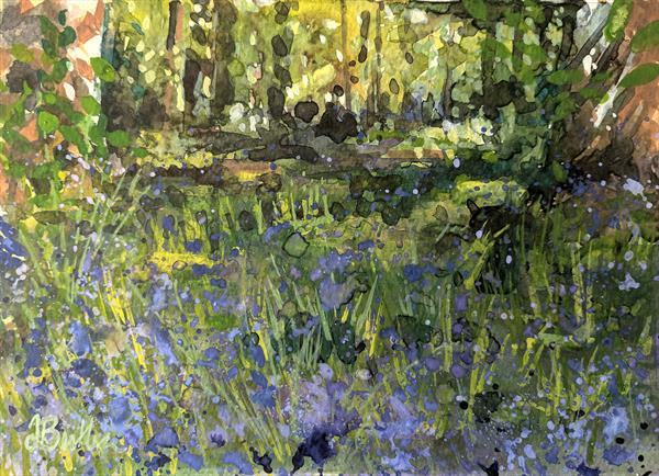 Bluebell Glade by Tracy Butler