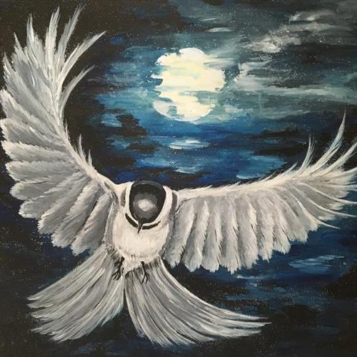 Moonlight Flight by KIM WILFORD