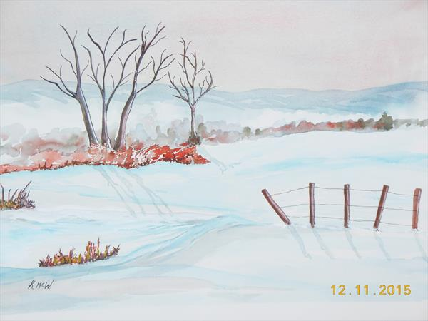Winter Scene by Kenneth A. Mc Williams