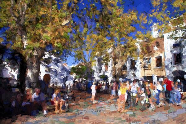 Plaza Cavana by Ron Whitby
