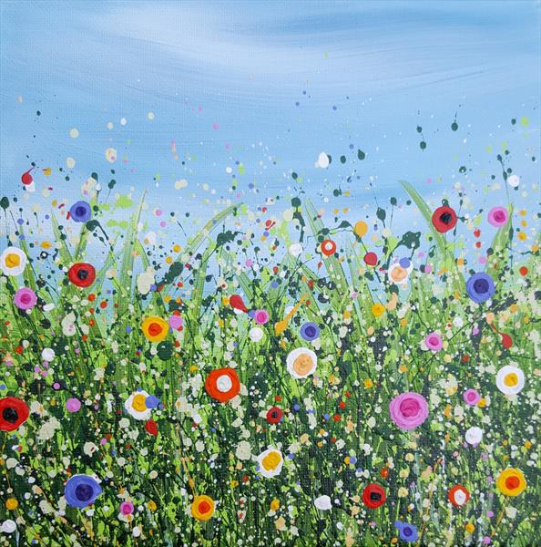 Popping Meadows #5 by Lucy Moore