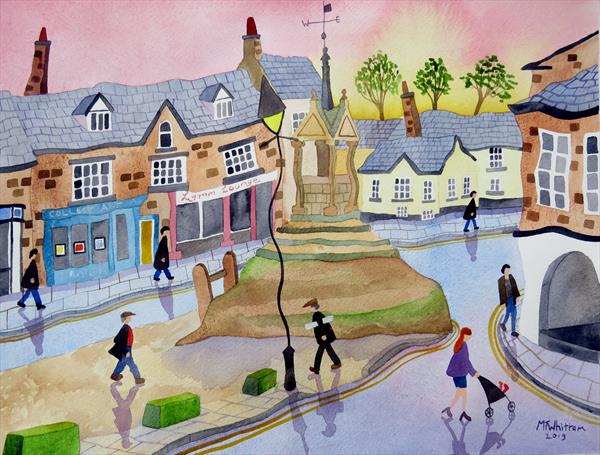 The Cross, Lymm by Martin Whittam
