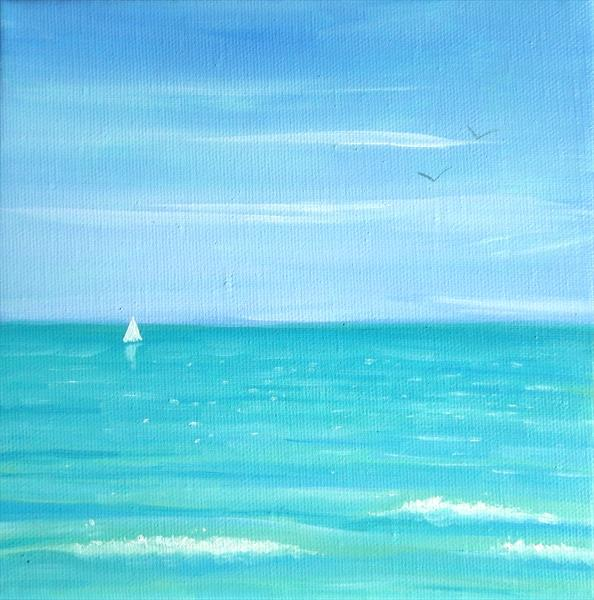 Sea Blue by Mary Stubberfield