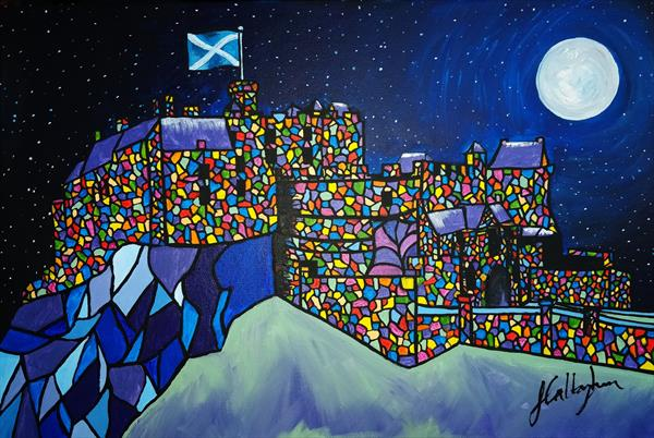 Number 5 - The Scottish Series - Edinburgh Castle by Siobhan Callaghan