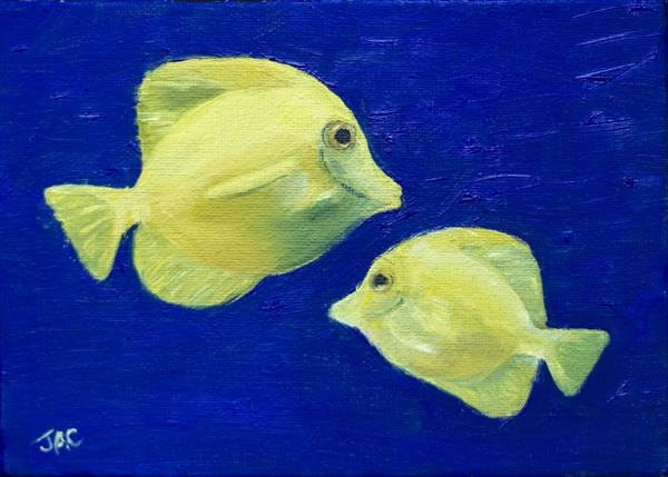 Yellow Fish by John Crabb